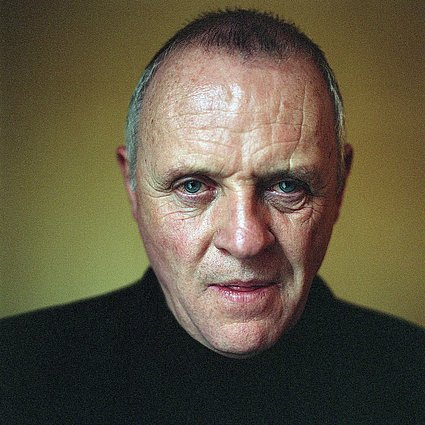 Anthony Hopkins, Foto Oliver Mark ©, Berlin, 2001